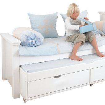 Epic Das Kinderbett KIDS DELUXE mit G stebett und Stauraum ist der perfekte Schlafplatz f r jung u alt Dannefelser Kinderm bel