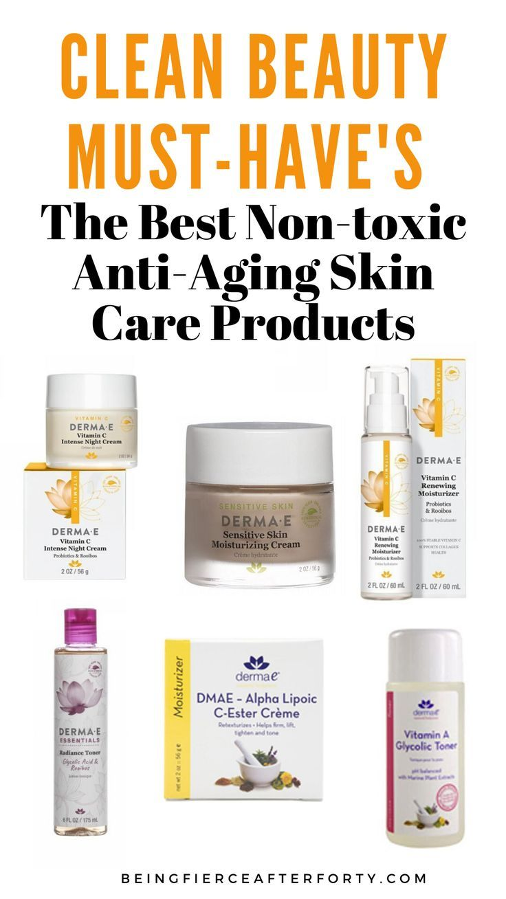 The Best Non Toxic Anti Aging Skin Care Products Aging Skin Care Anti Aging Skin Products Skin Care