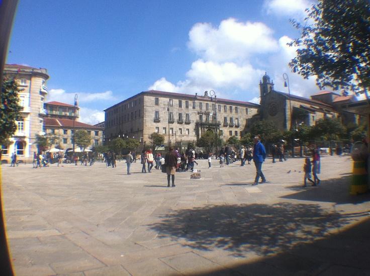 Vista de la plaza de la Herrería.