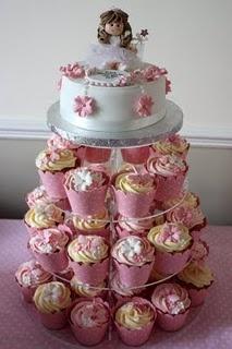 My Daughters Christening Cake