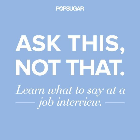Keep your interview on the right track, and your foot out of your mouth, by asking questions the correct way.