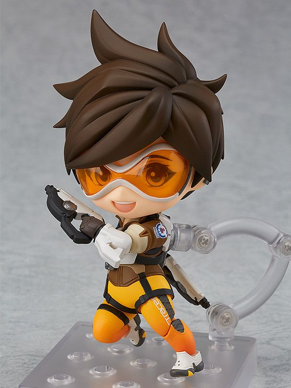 """Overwatch"" Tracer Nendoroid Classic Skin Edition by Good Smile Company up for preorder"