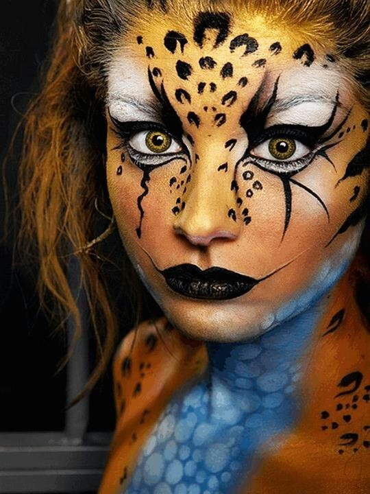 17 Best Ideas About Tiger Makeup On Pinterest | Tiger Halloween Costume Leopard Face Paint And ...
