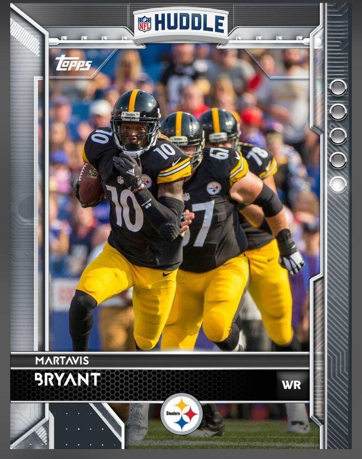 Martavis Bryant Pittsburgh Steelers Base Card 2016 Topps HUDDLE