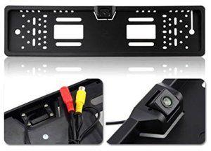 Auto Wayfeng® voiture Cadre de plaque d'immatriculation Hd Vue CCD arrière de voiture caméra de recul Caméra de recul Rearview Parking…