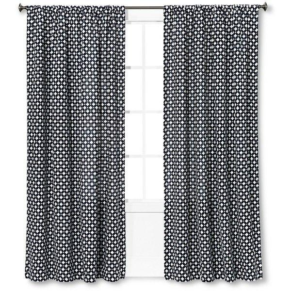 Woven Window Curtain Panel   Nate Berkus™ : Target ($30) ❤ Liked On