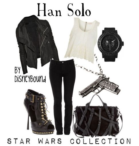 DisneyBound stylist, Leslie Kay - has created outfits based off of classic Star Wars characters.  http://disneybound.tumblr.com
