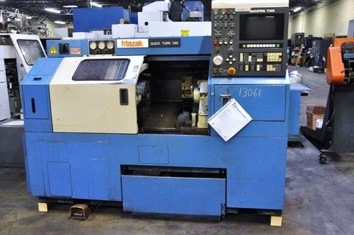 HIMES MACHINERY - MAZAK QT 18N CNC LATHE