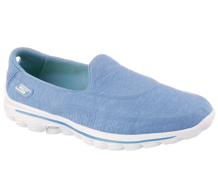 Medio calzado medio calcetín, es lo más cómodo! El Skechers GOwalk 2 es como un supercalcetín está diseñado con tecnologías innovadoras y materiales de alto rendimiento Skechers específicamente para caminar. Tejido suave transpirable superior con un ajuste tan cómodo que te parecerá que llevas un calcetín!
