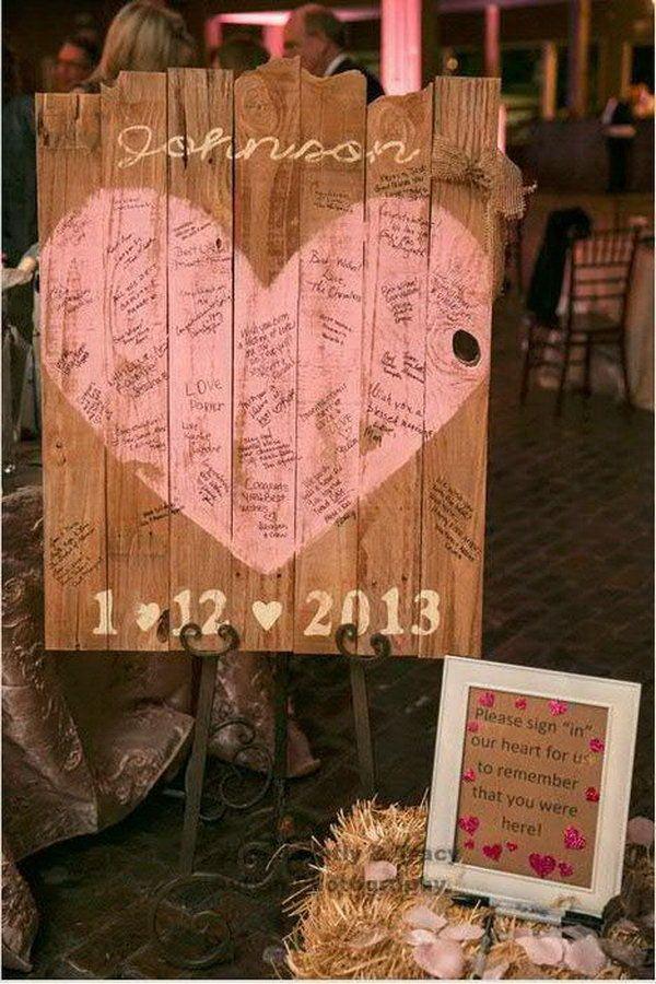 Rustic Wedding Sign Designs.