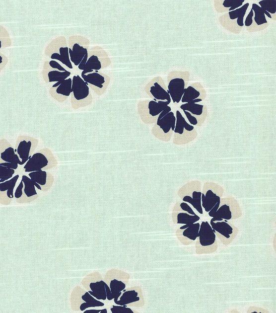 Joann Fabric Nate Berkus Home Decor Print Fabric Emila Lynwood Mint Contrast