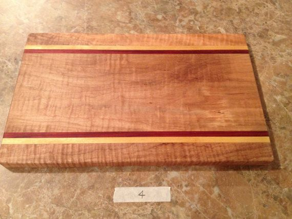 GIFT FOR MOM Beautiful Curly Maple Cheese Board by GWCWoodcrafts