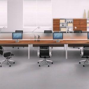 Exceptional Best 25+ Long Computer Desk Ideas On Pinterest | Desk For Study, Long Desk  And Imac Desk