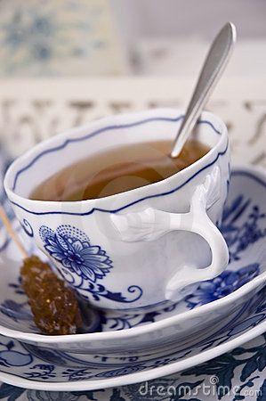 Kop van Engelse thee