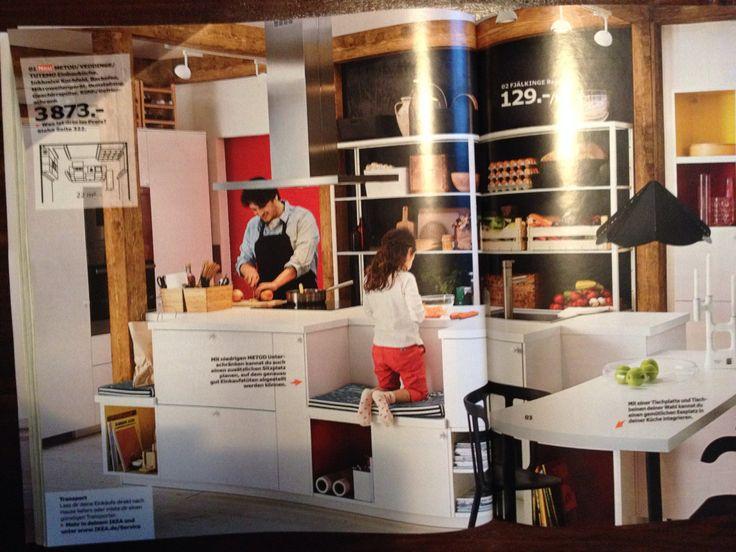130 best Küche images on Pinterest Command centers, Desks and - küche bei ikea kaufen