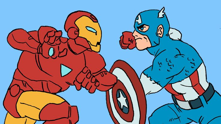 An Animated Explanation of Marvel's Confusing Civil War Comic Series