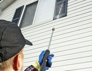 How to pressure wash your house