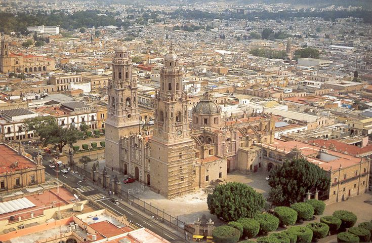 Historic Centre of Morelia, Michoacan. Mairie de Morelia, Mexico. Inscription in 1991. Criteria: (ii)(iv)(vi)