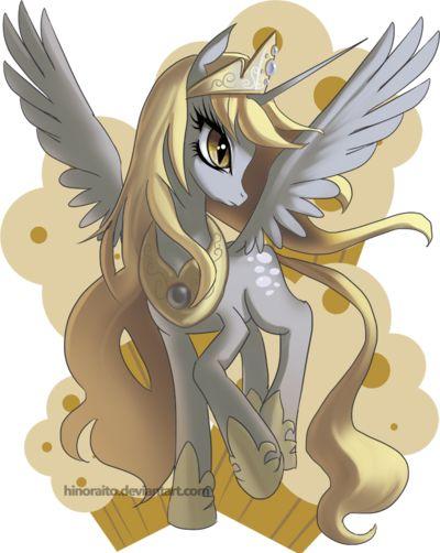 MLP FIM: Derpy Princess - Rejected Design by hinoraito.deviantart.com