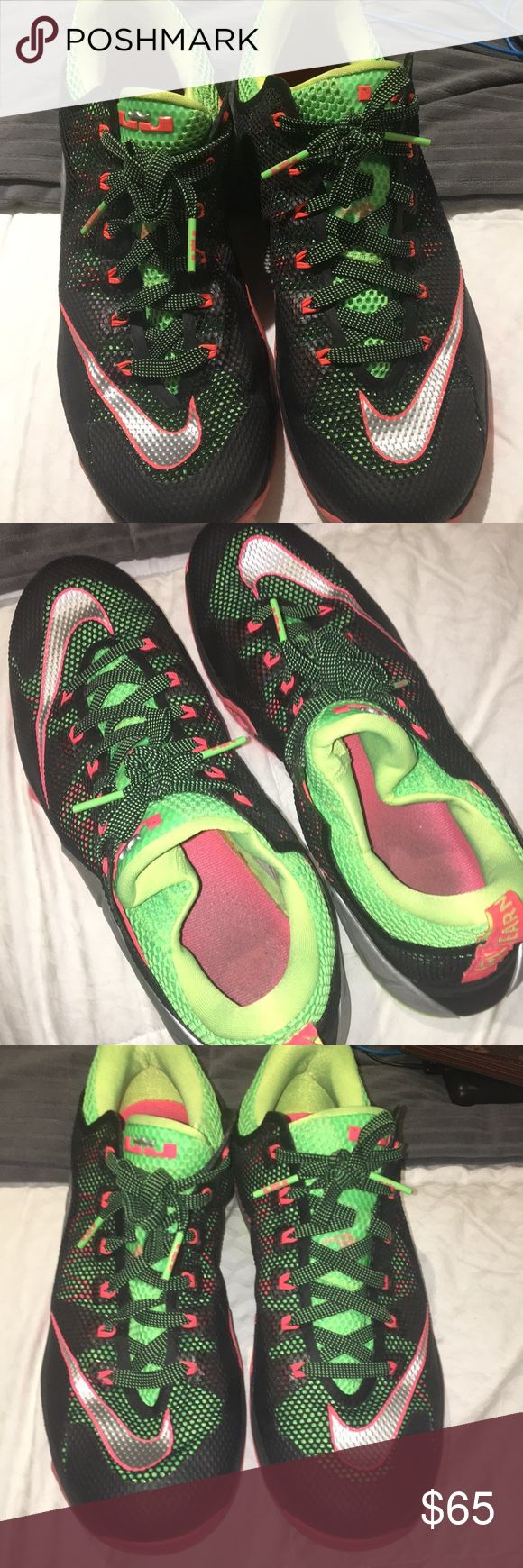 Lebron Men's basketball shoes Great condition! Men's basketball Lebron shoes size 11, Worn a 3-4 times, selling because it's not the right size but amazing shoe!! Nike Shoes Athletic Shoes