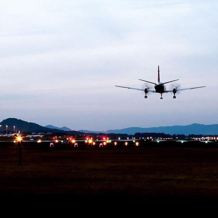 おつかれちゃん . 降りるだけ それだけ . . #air #plane #airport #kagoshima #koj #team_igkagoshima #micryu #鹿児島空港 #正月