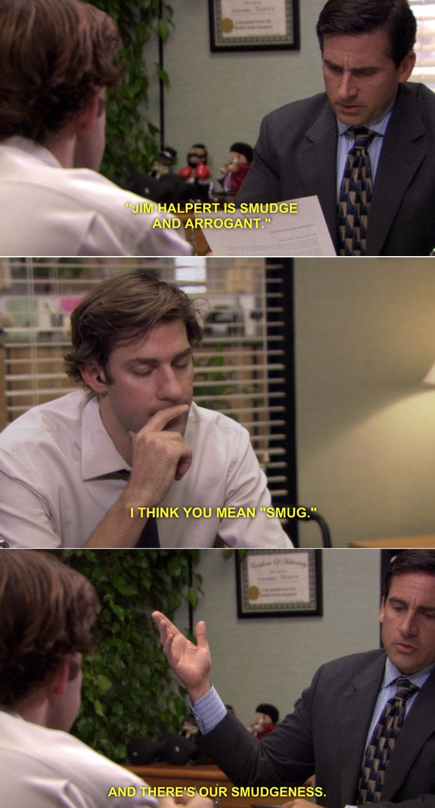 """When he had the chance to be right, but was wrong again:   27 Times Michael Scott Butchered The English Language On """"The Office"""""""