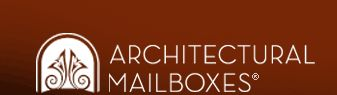 Architectural Mailboxes is a manufacturer and marketer of quality mailbox and mailbox accessories. We have established a reputation for product innovation, quality workmanship, aesthetic designs, and end-user security. Architectural Mailboxes objective is to be the industry leader for premium residential postal products.  Our products are sold throughout the United States and Canada.