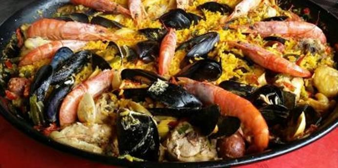 pa lla royale la vraie recette espagnol la paella est une sp cialit espagnole import e chez. Black Bedroom Furniture Sets. Home Design Ideas