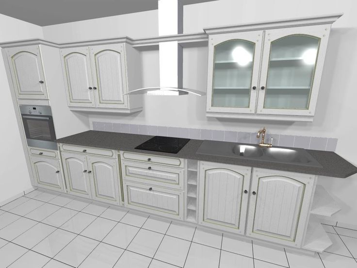 Dessin de cuisine rendu 3d photo kitchen design conception for Cuisine dessin 3d