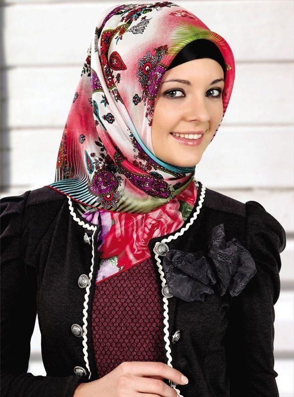 modern hijab style 2014