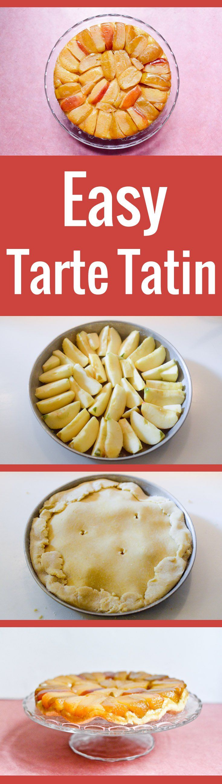 An easy and straightforward recipe for the classic French dessert, with soft apples and salted butter caramel.