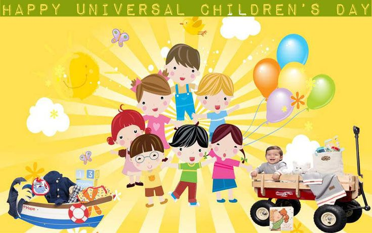 Happy Universal Children's Day