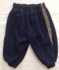 Baby Boys Blue Striped sweatpants 2T