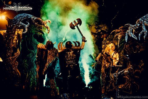 36866173 Lordi + Shiraz Lane + Silver Dust, The Button Factory, Dublin, November 9th 2016
