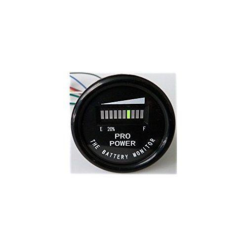 PRO12-48M ProPower's 36 Volt Battery Indicator, Meter for EZGO, Yamaha, Club Car - Golf Cart
