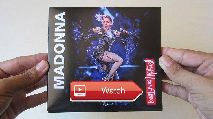 Madonna Rebel Heart Tour CD DVD Unboxing CD en Espaol  Canal Top 1 Albums Canal de Tutoriales