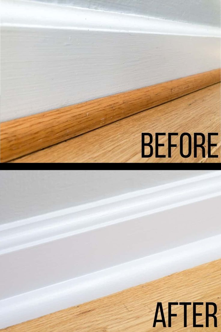 How To Paint Baseboards Like A Pro In 2020 Painting Baseboards Baseboards Narrow Hallway Decorating