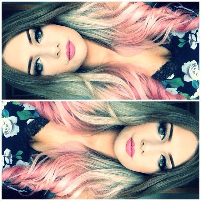 Sexy, hot pink for the overflowing sophisticated hair! http://dyenamite.com/shop/carnation-hair-dye/