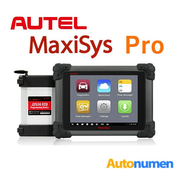 $1999 - Original Autel MaxiSys Pro MS908P Wifi OBD Full System Diagnostic with MaxiFlash Elite ECU Preprogramming   MaxiSYS Pro MS908P Highlights: 1.Software Version: Every Car Model Software Has A Different Version. 2. Wi-Fi Technology: The VCI connects wirelessly to the main unit with Long-Range Class 1 Bluetooth 3. Update: two Years Free Update Online, After two Year, the Update Fee 1295USD 4.Language: English, Spanish