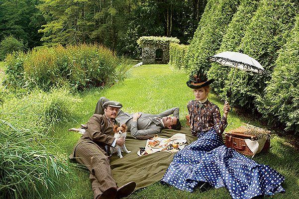 Фотосъемки, стилизованные Грейс Коддингтон для американского Vogue