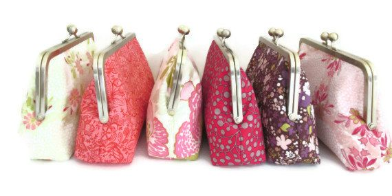 DESIGN YOUR SET of clutches for your bridesmaids Bridesmaid gifts for Bridesmaid Wedding Attendants on Etsy, $38.00