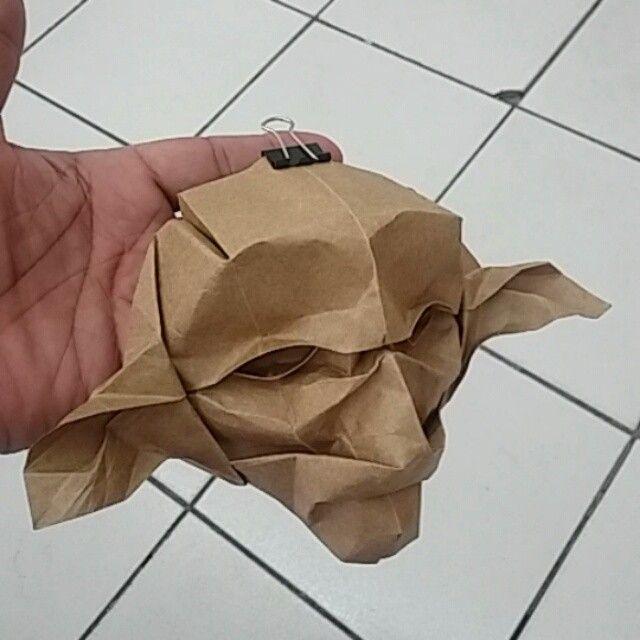 #Dobby_harryPotter #origamimask by #khalilart1