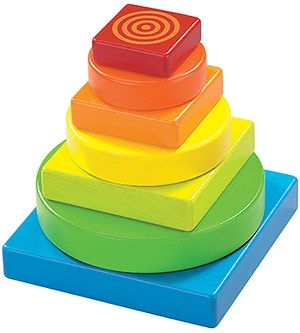 Baby Toys That Teach: Color Tower Stacking Game (via Parents.com) #oompatoys