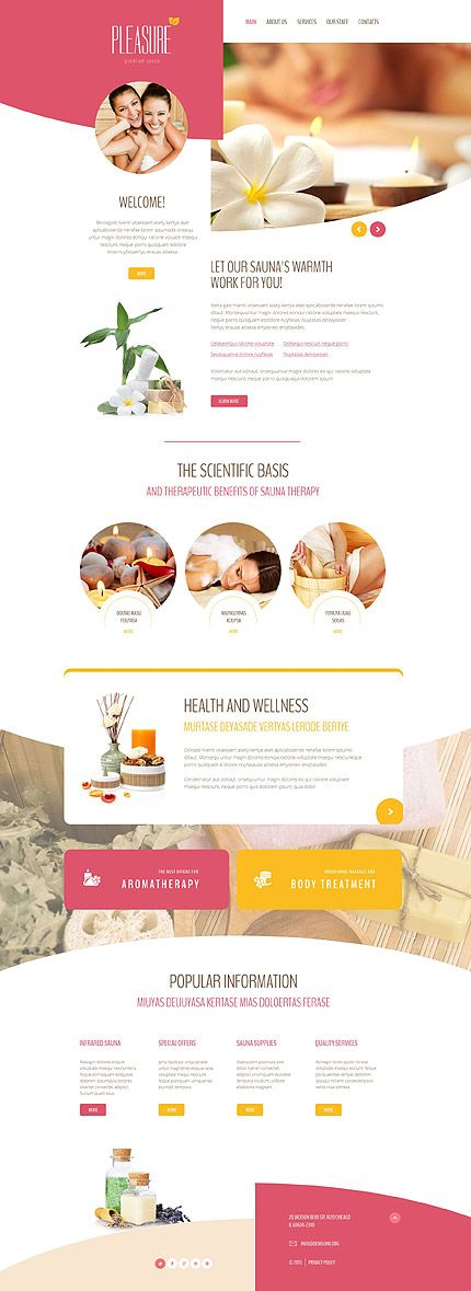 Premium Sauna Services #website #template. #themes #business #responsive #websitethemes