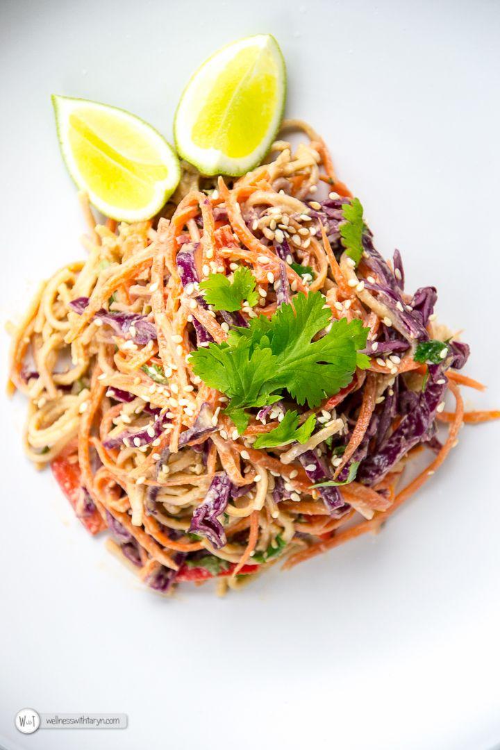 Peanut & Lime Thai Soba Noodle Salad