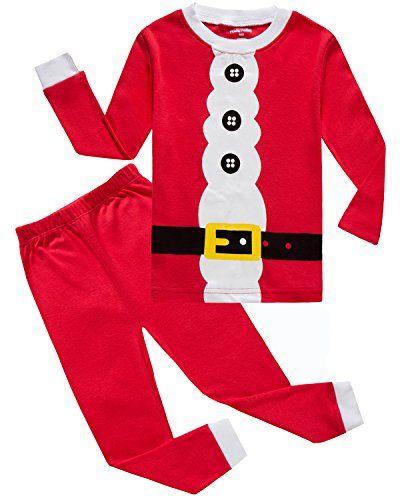 IF Pajamas Christmas Baby Girls Boys Pjs Unisex 100% Cotton Long Sleeve Newborn Pajamas Sets Size Red 12-18 Months