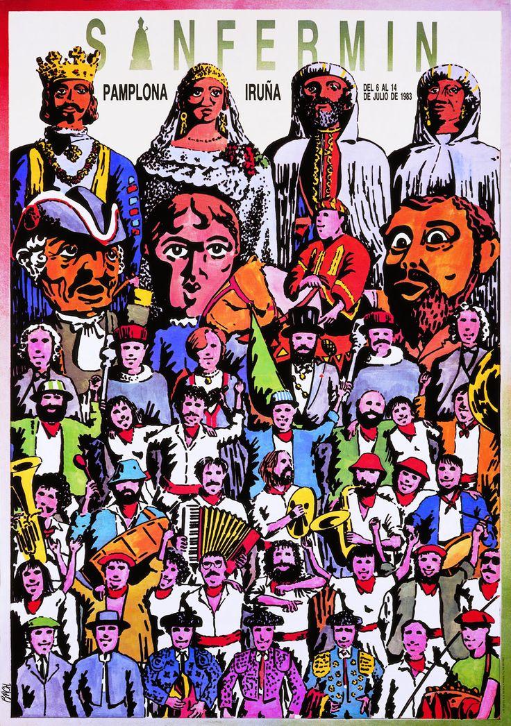 San Fermín 1983 Jaume Bach