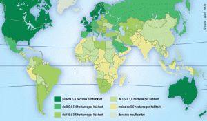 Empreinte Ecologique par habitant