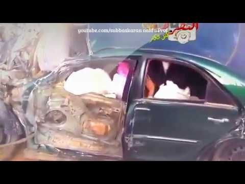 Most terrible Accident of high speed car in Dubai