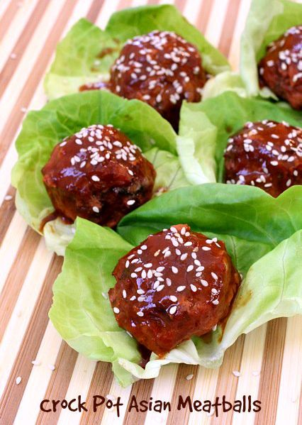 Check out crockpot asian meatballs it 39 s so easy to make for Meatball appetizer recipe crockpot